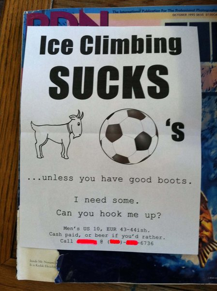 Rock Climbing Photo: Saw this on Alpinist Facebook page and had to shar...