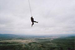 Rock Climbing Photo: The King Swing, El Potrero Chico