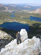 Rock Climbing Photo: on top of the north arete.