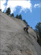 """Rock Climbing Photo: Matt on """"Pissappointment"""".  Photo by Bli..."""