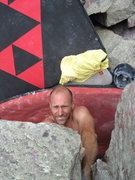 Rock Climbing Photo: Grwarrrrr!