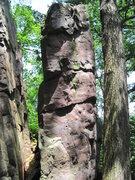 Rock Climbing Photo: This face seems to be un-climbed.