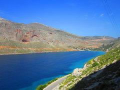 Rock Climbing Photo: Looking toward Sectors Arhi and Sea breeze from se...