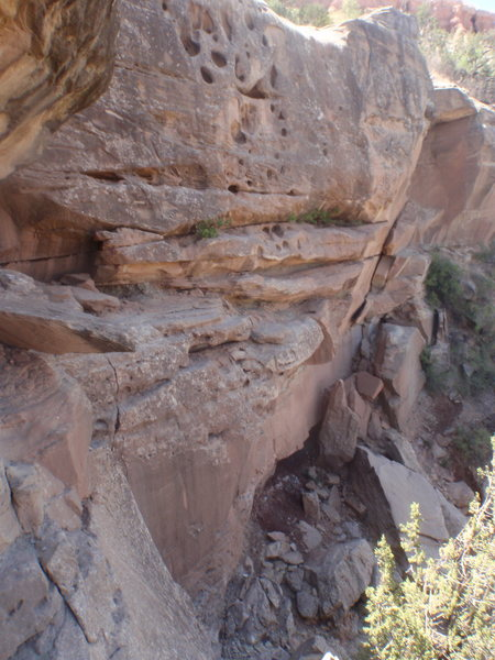 Rock Climbing Photo: Hueco Point
