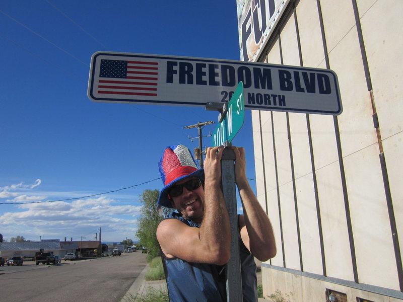 Freedom Blvd.