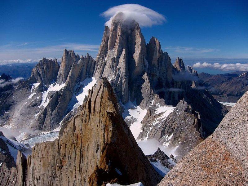 Rock Climbing Photo: The Fitz Massif