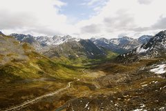 Rock Climbing Photo: Looking back down Archangel Valley early in the se...