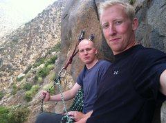 Rock Climbing Photo: Tim and Jonathon