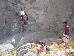 Rock Climbing Photo: Going up Fetal Rearrangement 5.8