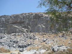 Rock Climbing Photo: A view of Right of the Roof area and Roof area fro...
