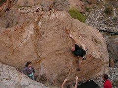 Rock Climbing Photo: Ben Eaton on Snake Eyes.