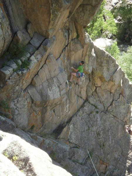 Lower crux.