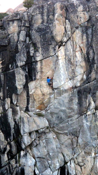 Rock Climbing Photo: Cookie Mix is a mosaic of the Summit's finest feat...