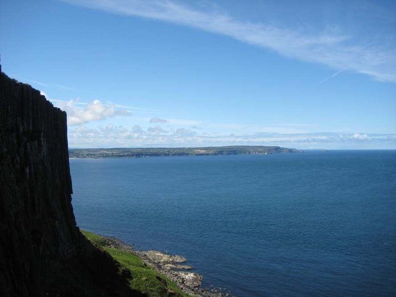 Rock Climbing Photo: Looking out to sea on a calm day (photo by Phil As...