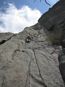 Rock Climbing Photo: Tony Maul and I at Lumpy Ridge.  June 11th 2011.  ...