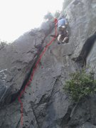 Rock Climbing Photo: Chubby Girls Wearing Shower Curtains 5.4