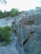 Rock Climbing Photo: Theme Night Direct 5.8