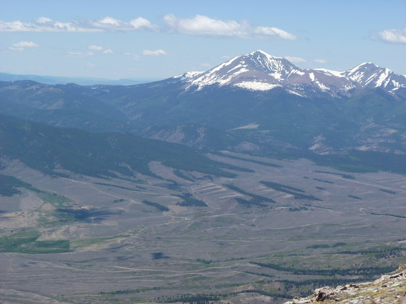 Rock Climbing Photo: MT. Ouray from Hunts Peak.