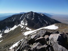 Rock Climbing Photo: Bushnell Peak from Twin Sisters.