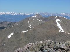 Rock Climbing Photo: Hunts Peak from Bushnell.