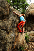 Rock Climbing Photo: Brea about to get Low Tide. 7/19/2009.  andylibran...