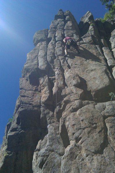Rock Climbing Photo: Dominator at Avalon