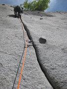 Rock Climbing Photo: Bobby on Bushwhack