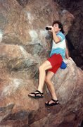 Rock Climbing Photo: Early '90s.