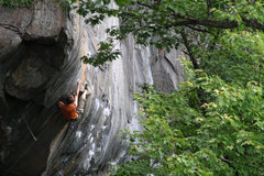 Rock Climbing Photo: otey, workin it... i must say i love the compositi...