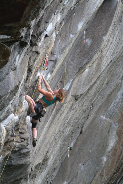 Rock Climbing Photo: lily on suburban (photo by otey)