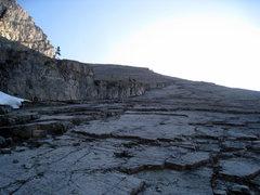 Rock Climbing Photo: Joy (5.6, 10 pitches, Mt. Indefatigable). Follow t...