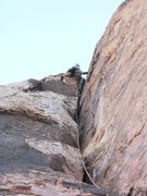 Rock Climbing Photo: Fun summer climbing in Red Rock- Tis the season in...