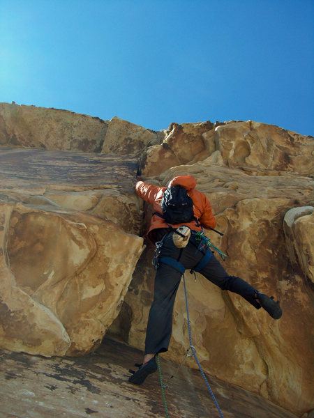 Rock Climbing Photo: Butt shot view of the roof.  Ridiculously fun and ...