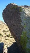 Rock Climbing Photo: The upper face of The Murray Highball