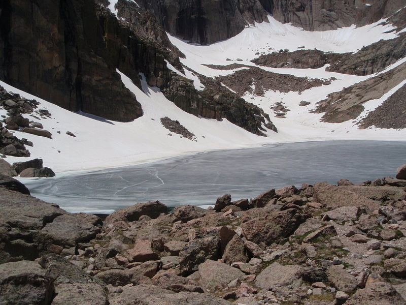 Rock Climbing Photo: Chasm Lake.
