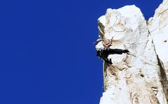 Rock Climbing Photo: The upper arete