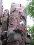 Rock Climbing Photo: For those somewhat confused by the guidebook descr...