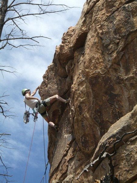 Rock Climbing Photo: Never stop exploring, just another McLaughlin FA.