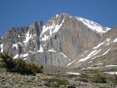 Rock Climbing Photo: The Diamond, 6-24-2011.