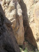 Rock Climbing Photo:  Lower section of the climb