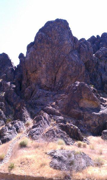 Crossfire Crag.