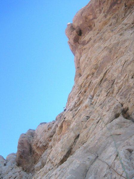 Rock Climbing Photo: Higher on P3