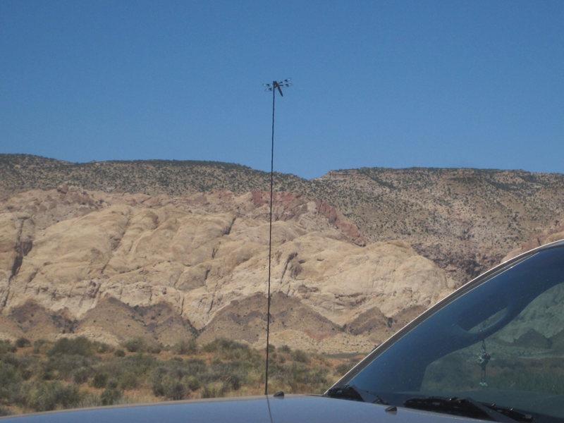 Rock Climbing Photo: Desert Dragon Fly lookout post