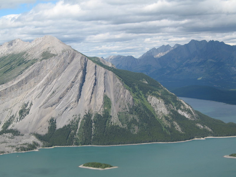 Rock Climbing Photo: Mount Indefatigable (from Google Panoramio)