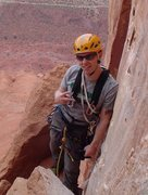 Rock Climbing Photo: At the top of P2 Kor-Ingalls