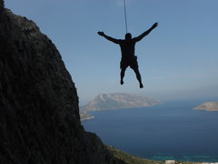 Rock Climbing Photo: climbing in Kalymnos