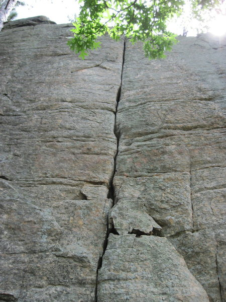 Rock Climbing Photo: Good crack!