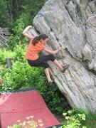 Rock Climbing Photo: Audrey, age 12?