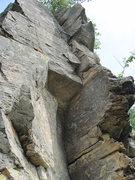 Rock Climbing Photo: Dihedral around the corner from Kutcher Krack. OK ...