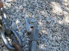Rock Climbing Photo: Deformed bolts #2